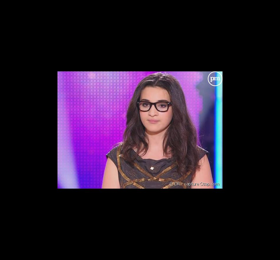 "Camelia Jordana, candidate de ""Nouvelle Star"" 2009"