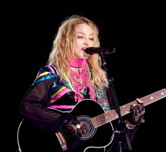 Madonna lors du 'Stick & Sweet Tour'