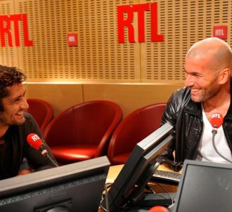 Bixente Lizarazu face à Zinedine Zidane