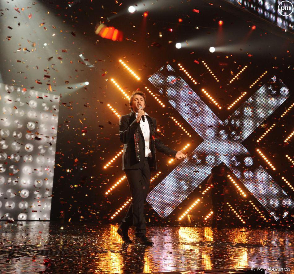 """Sébastien Agius, vainqueur de """"X-Factor"""" en 2009, sur W9"""