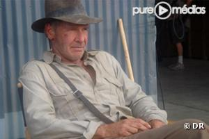 "Harrison Ford  dans ""Indiana Jones 4""."
