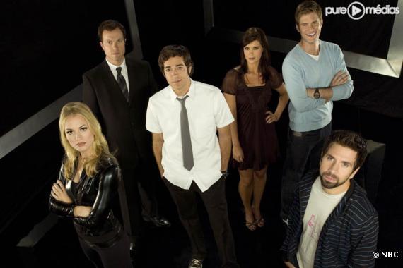 """Le cast de """"Chuck"""""""
