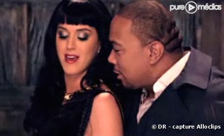 "Katy Perry et Timbaland dans le clip de ""If We Ever Meet Again"""