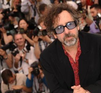 Tim Burton à Cannes.
