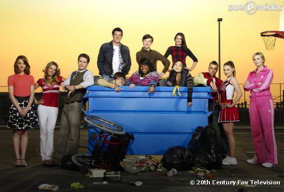 """Le cast de """"Glee"""""""