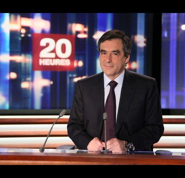 François Fillon, le 9 mars 2010 sur France 2