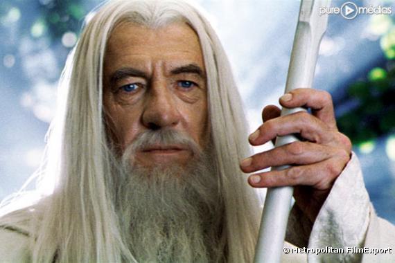 """Ian McKellen dans """"Le Seigneur des anneaux : les deux tours""""."""
