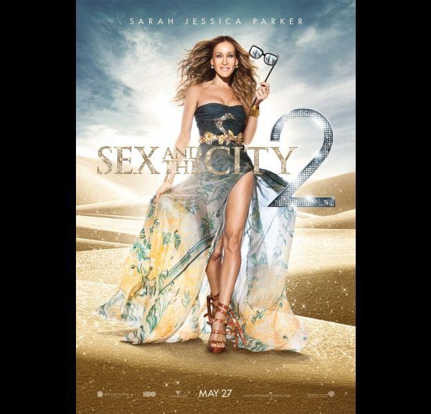 """Affiche de """"Sex and the City 2"""""""
