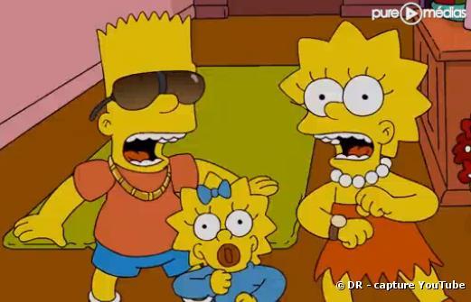 Les Simpson reprennent Ke$ha