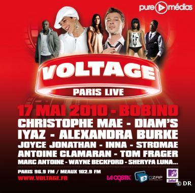 """Le """"Voltage Paris Live"""" du 17 mai 2010, avec Ozap"""