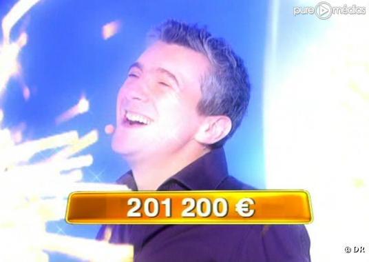 Pascal a gagné 201.200 euros au jeu