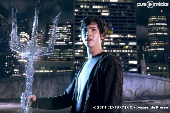 """Logan Lerman dans """"Percy Jackson : le voleur de foudre"""""""