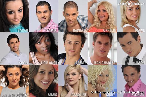 """Les participants à """"Dilemme"""" sur W9 (saison 1, 2010)"""
