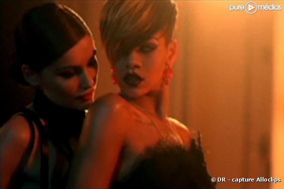 "Laetitia Casta et Rihanna dans le clip de ""Te Amo"""