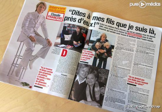 """""""France Dimanche"""" du 5 mars 2010"""