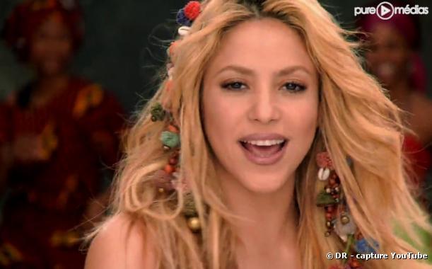 """Shakira dans le clip de """"Waka Waka"""""""