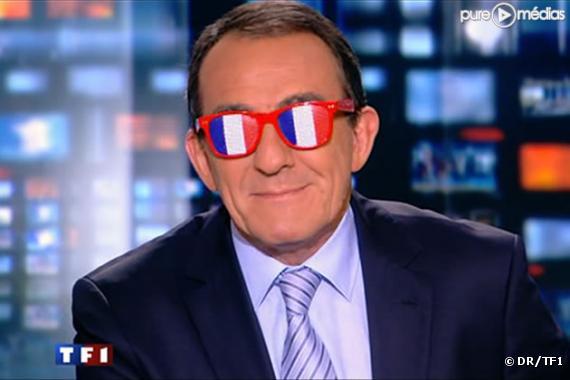 Jean-Pierre Pernaut, le 11 juin 2010 sur TF1