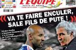 "Nicolas Anelka a insulté Raymond Domenech lors du match ""France/Mexique"""