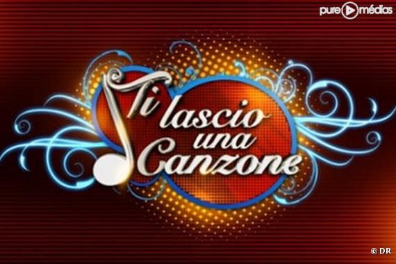 """Le logo de l'émission italienne """"Ti lascio una canzone"""""""