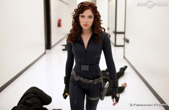 Scarlett Johansson dans Iron Man 2
