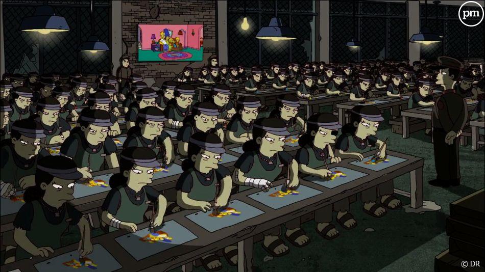 Le générique des Simpson revu par Banksy