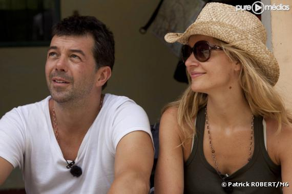 """Stéphane Plaza et Sandrine Corman dans """"Pékin Express, duos de choc"""""""