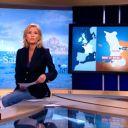 Claire Chazal, en jean, le 30 octobre 2010 sur TF1