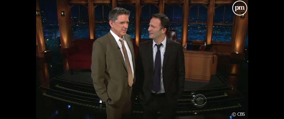 """Craig Ferguson face à Arthur dans son """"Late Late Show"""""""