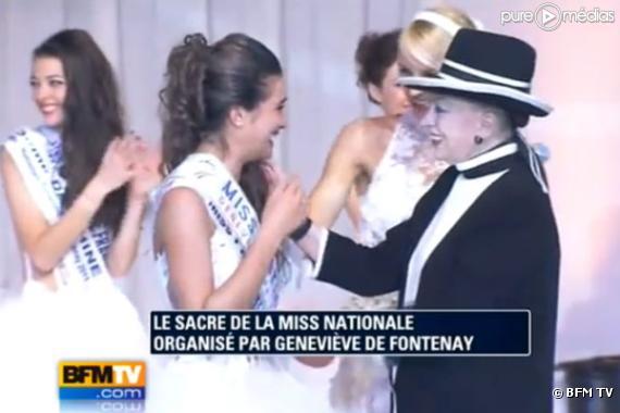 L'élection de Miss Nationale, le 5 décembre 2010 sur BFM TV