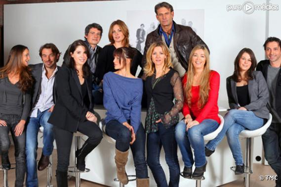 """Le casting de la série """"Les Miracles de l'amour""""."""