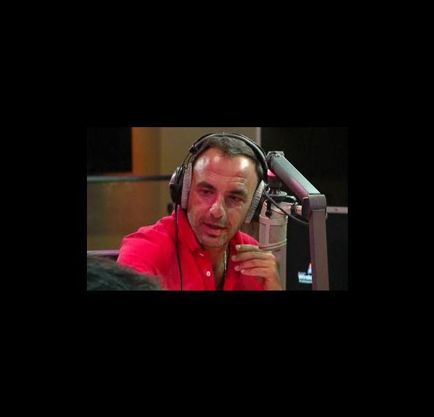 Nikos Aliagas au micro de NRJ