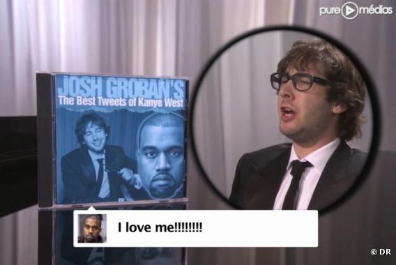 Josh Groban chante les tweets de Kanye West