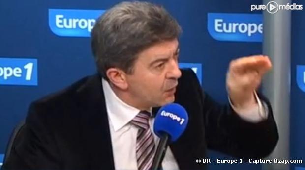 Jean-Luc Mélenchon, le 5 janvier 2010 sur Europe 1
