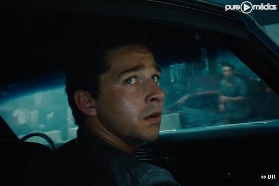 "Shia LaBeouf dans ""Transformers 3"""