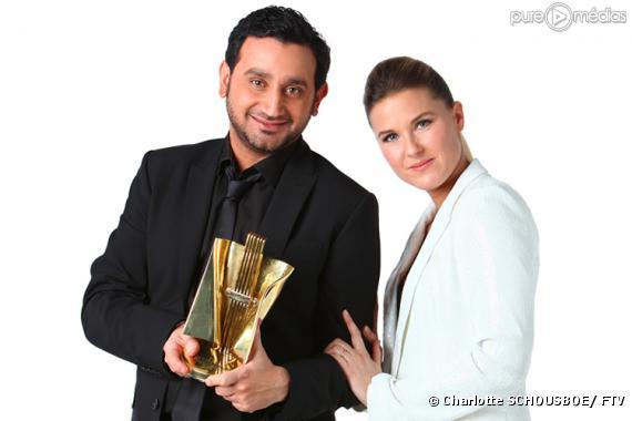 Cyril Hanouna et Stéphanie Renouvin