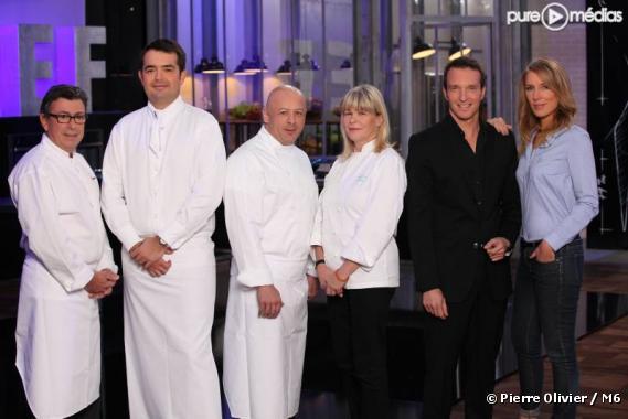 """Le jury et les animateurs de """"Top Chef"""" 2011"""