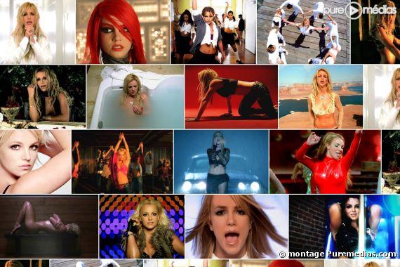 Les clips de Britney Spears