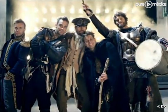 "Take That dans le clip de ""Kidz"""