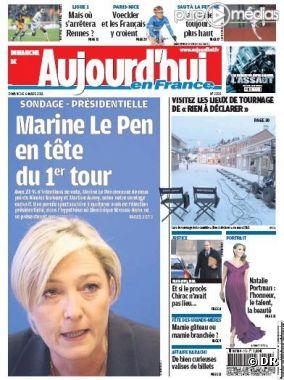 """La Une du """"Parisien"""" du dimanche 6 mars 2011"""
