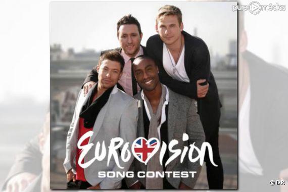 Blue représente le Royaume-Uni pour l'Eurovision