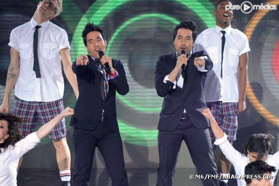 """Les Twem sur le plateau de """"X-Factor"""""""
