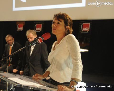 Hélène Jouan, directrice des magazines d'information de France Inter.