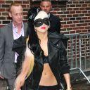 Lady Gaga à New York pour la promotion de son nouvel album le 23 mai 2011.