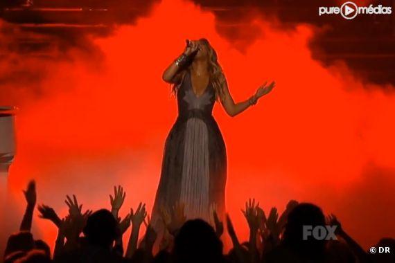 """Beyoncé sur le plateau d'""""American Idol"""""""