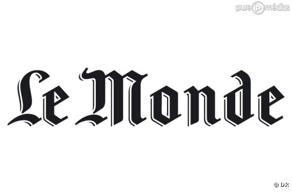 "Le logo du journal ""Le Monde""."