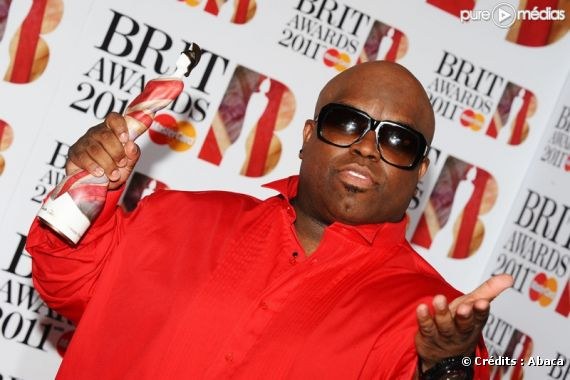 Cee-Lo Green aux Brit Awards 2011