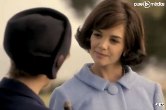 "Katie Holmes dans ""The Kennedys"""