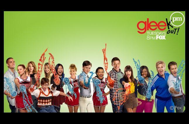 """Affiche promotionnelle de """"Glee"""" saison 2"""