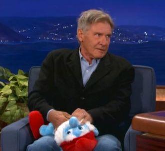 Harrison Ford passe sa colère sur le Grand Schtroumpf !
