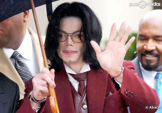 Michael Jackson, en 2005